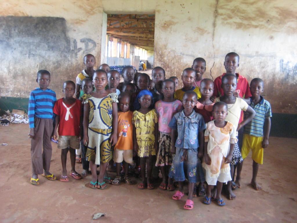 Kinder in Umulokpa