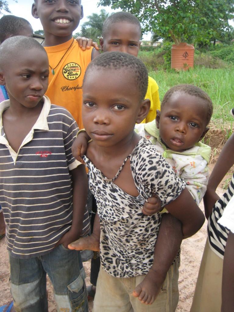 Kinder sorgen für Kinder